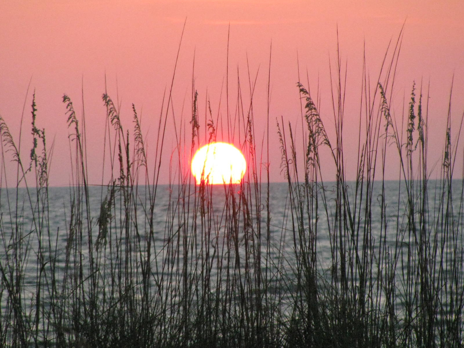 Sunset off Indian Rocks Beach, Florida